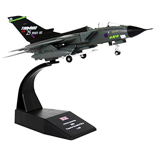 1/100 Scale British Royal Air Force Tornado GR4 Fighter-Bombers Military Model Diecast Plane Model Kit