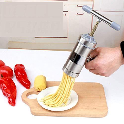 XIAOJIAN Máquina de prensado de Acero Inoxidable, Fettuccine y Fideos manuales de Fideos Máquina de Fideos PEQUEÑA CENTRÓN Cinco Mayor Manera Manera MÁQUINA A/Código de Productos básicos: LXJ-224