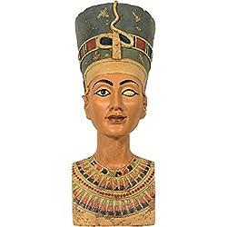 Nofretete Büste Veronese Ägypten Gottheit Pharaonin Deko bronziert