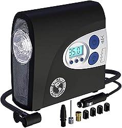 P.I. Auto Store Tire Inflator- Electric 12v DC Portable Auto Air Compressor