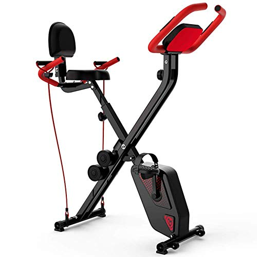 YAMMY Indoor Cycling Bikes Mini Exercise Bike Spinning Bike Foldable Domestic Gym Machine Fitness Equipment Sports Cycling Fitness Bike(Exercise Bikes)