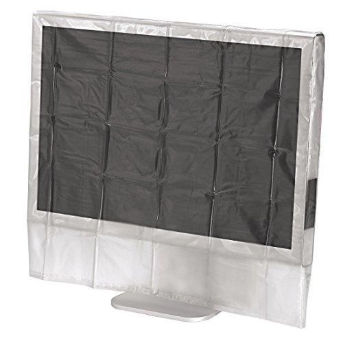 Hama Bildschirm Staubschutz-Hülle (geeignet für Monitore von 51 bis 56 cm (20 - 22 Zoll)) transparent