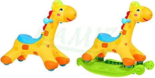 BSD Schaukelstuhl Schaukeltier - Ride On 2 In 1 - Giraffe