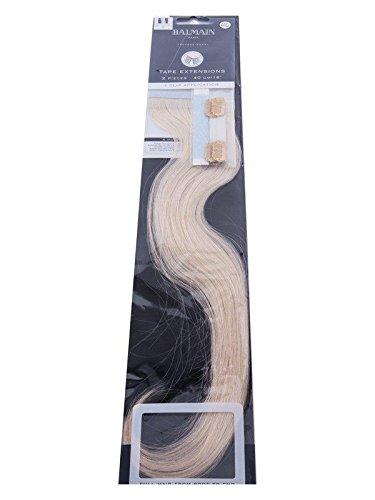 Balmain Tape Extension Echthaar 10A blond asch 40 cm, 1er Pack (1 x 2 Stück)