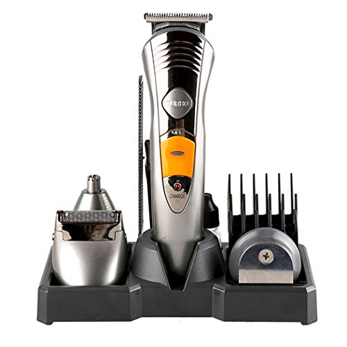 Wenmw heren baardtrimmer set lichaam baard trimmer neus haar trimmer snoerloze USB-oplader Een machine professionele tondeuse