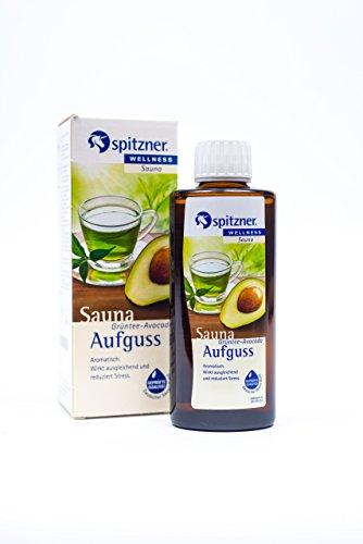 Spitzner saunaopgiet, wellness, groene thee-avocado (190 ml) concentraat