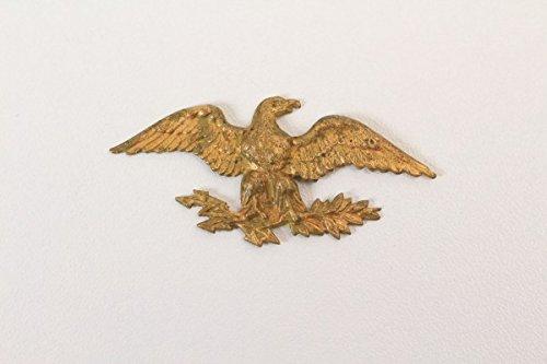 vintage13.de. de águila Chapado en Oro Flash Ramo de Gorro Águila Chacó Francia III. República? Antiguo