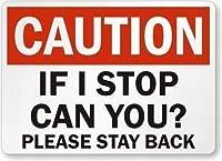 注意やめたらできますか? 金属錫サイン通知通りの交通危険警告耐久性、防水性、防錆性を維持してください