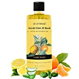 ST. D'VENCE Lime & Basil Body Wash with Mandarin Oil   Parabens & Phthalates Free   Mineral Oil Free...