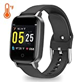 YoYoFit Smart Watch with Heart Rate Monitor, Activty Tracker with Body Temperature Fitness