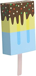 Rekkles 10pcs crème glacée Forme Bonbons Boîtes Fête d'halloween Anniversaire de Mariage Popcorn boîte-Cadeau Container