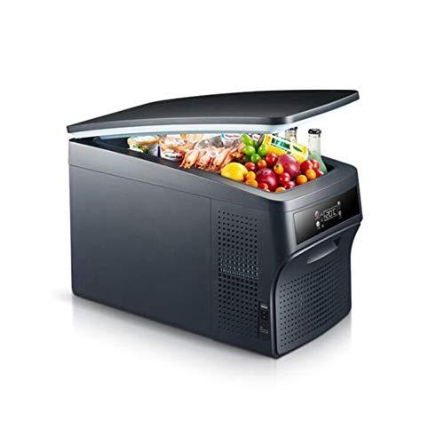 XYBB Mini-koelkast, draagbaar, met vrieskast, Celsius, compressor voor auto, camping, draagbaar, dubbel gebruik 602 * 320 * 395cm 26 liter.