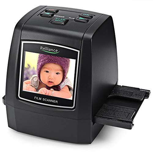 Best Prices! elecfan Movie Scanner, 14MP/22MP High Resolution Slide 2.4'' TFT LCD 135mm/126mm/110mm/...