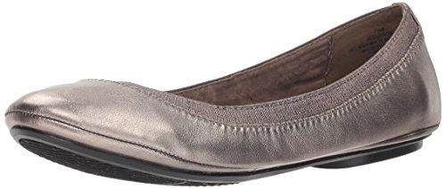 Bandolino Footwear Women's Edition Ballet Flat, Pewter, 10