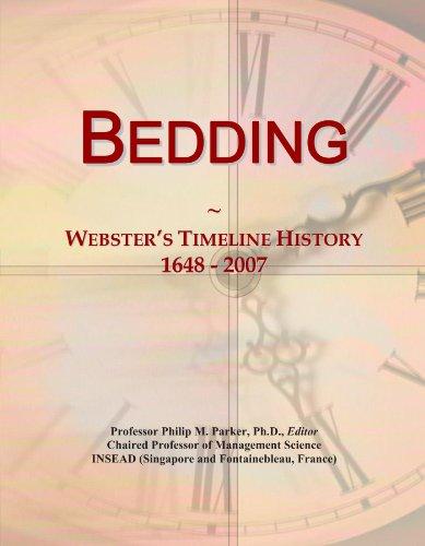 Bedding: Webster's Timeline History, 1648 - 2007