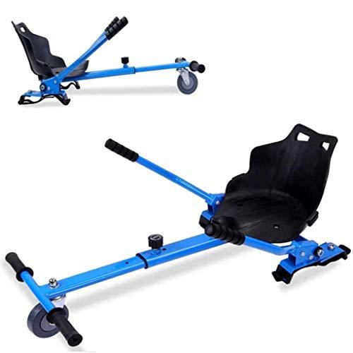 RONGJJ Hoverboard, Kart Hover Ajustable, Scooter Eléctrico Inteligente Go Karting Kart para...