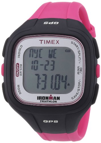 Timex Unisex-Armbanduhr Digital Quarz Kautschuk T5K753