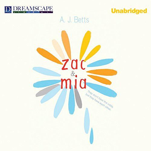 Zac and Mia audiobook cover art