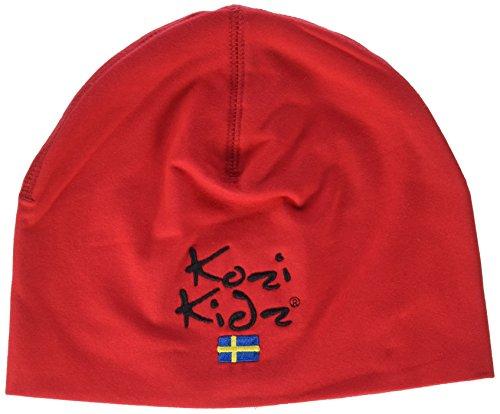 Kozi Kidz Cappello, Unisex, Hut Mütze, Rosso, S/M