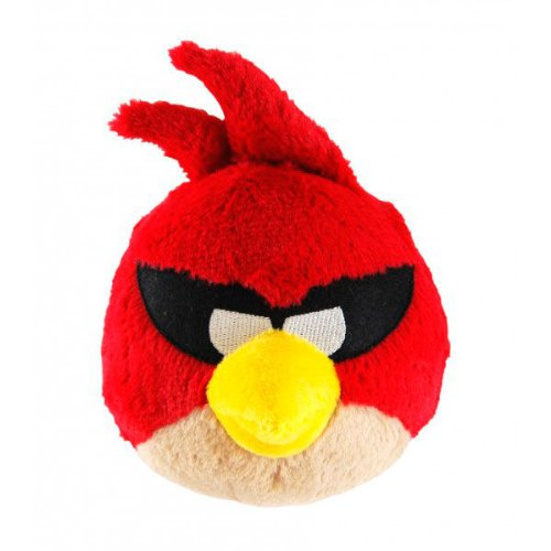 Commonwhealth - Peluche Sonore Angry Birds Space Rouge 12cm - 8425611397707