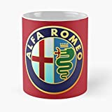 Sconosciuto Italy Car F L Racing Romeo Alfa A Logo F1 Best 11 Ounce Ceramic Coffee Mug Best 11 Ounce Ceramic Coffee Mug Migliore Tazza da caffè Regalo 11 oz !