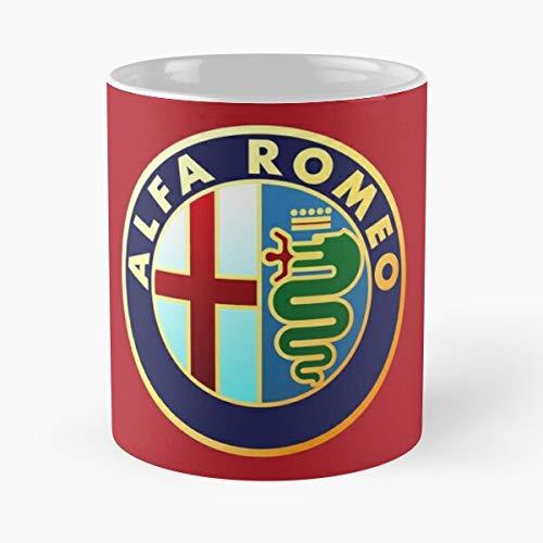 Amnautical Alfa Car Logo Italy Romeo L F A F1 Racing Best 11 oz Kaffeebecher - Nespresso Tassen Kaffee Motive