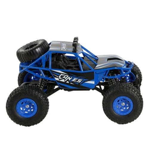 Lihgfw Fernbedienung Auto, 4WD RC Car Radio Fernbedienung Elektrische Offroad-Fahrzeug 2.4GHz RC-Fernbedienung Buggy-Auto-Spielzeug (Color : Blau)