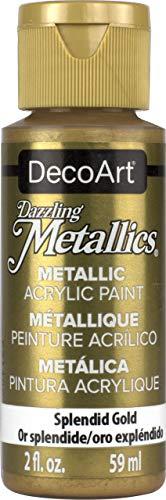 Deco Art Americana Peinture Acrylique mé Tallique Or, Splendid