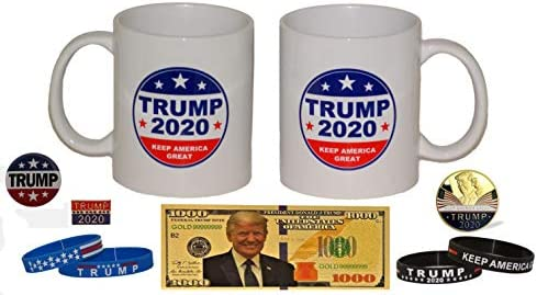Historic Election Memorabilia 2 Trump Keep America Great Coffee Cups Trump 11 oz Coffee Cup product image