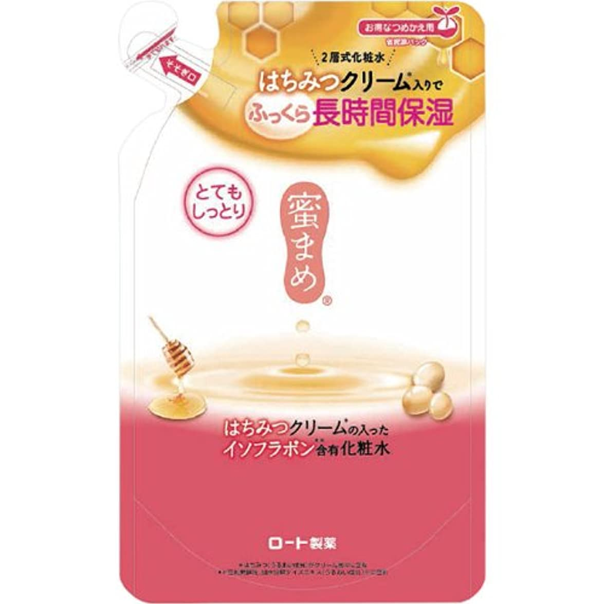 和らげる夢シソーラス蜜まめ 合わせ化粧水 (とてもしっとり) (つめかえ用) 180mL