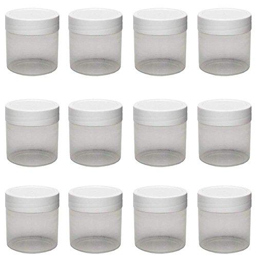 mikken Cremetiegel, Kunststoff, Weiß, 20-Einheiten
