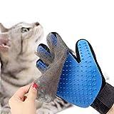 Haustier Grooming Handschuh,Handschuh Hunde Haustier Handschuh Handschuh Katzen Tierhaar Handschuh Haustier Bürsten MassageHandschuh Pflegebürste, Für Hunde und Katzen Haarentfernung (Einer)