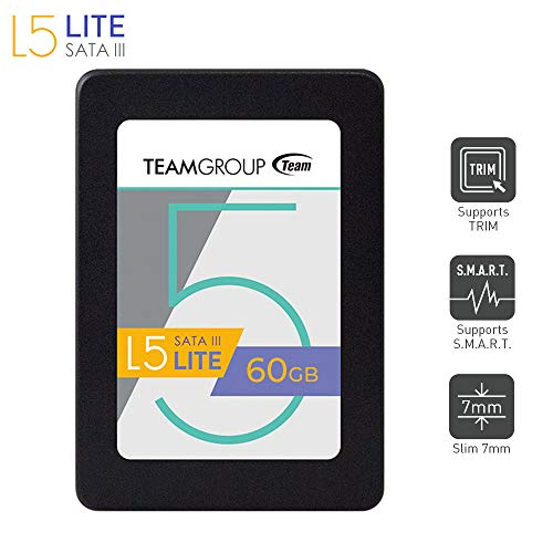 TeamGroup T2535T060G0C101 Solid State Drive 60GB L5 Lite, 6,35 cm (2,5 Zoll
