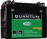 Batteria Quantum-Marelli 10ah Agm C/Acido-S/Manutenzione