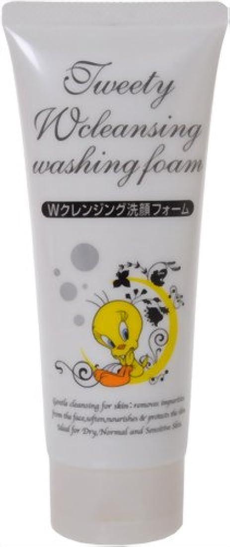 鬼ごっこ米国プール熊野油脂 トゥイーティー Wクレンジング洗顔フォーム 130g