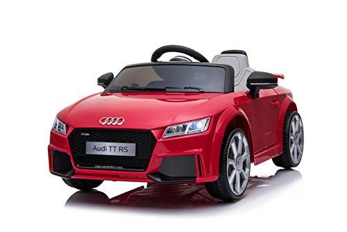 Toyas Audi TTRS Cabrio Kinder Auto Kinder Elektroauto Kinderfahrzeug 12V Akku USB MP3 Rot*