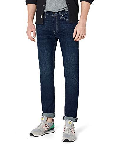 Levi\'s Herren 511 Fit Slim Jeans, Blau (Rain Shower 709), 33W / 32L