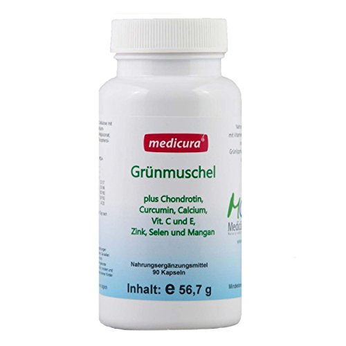 Medicura Grünmuschel Plus 90 Kapseln - 56.7 g