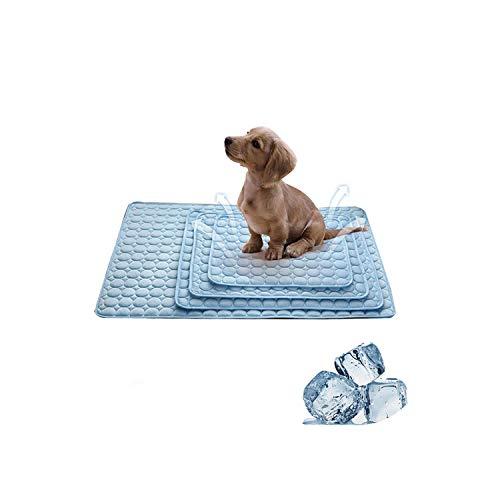 Big Incisors Wasserbeständige thermische Sommerkühlmatten Decke EIS Haustier Bett Sofa Matten für Hunde Katzen Camping Yoga Haustier Zubehör-XXL 150x100cm-