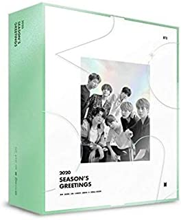 [2nd Pre-Order : Jan 3, 2020] BTS Bangtan Boys - BTS 2020 Season's Greetings Calendar Set+Making DVD+Extra Photocards Set