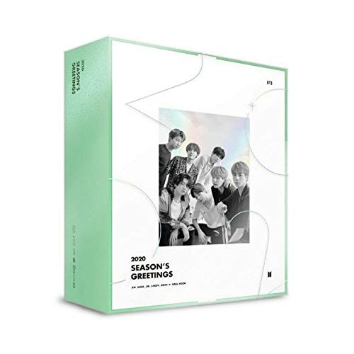 Grote hit Entertainment BTS BANGTAN jongens - BTS 2020 SEASON'S GREETINGS kalender Set+maken DVD+Extra Fotokaarten Set