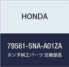 Genuine Honda 79581-SNA-A01ZA Dial Knob Assembly