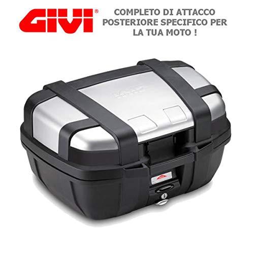Baúl Baúl Maleta Trasera GIVI de aluminio 52lt trk52N +