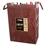 Trojan L16H-AC Flooded Lead Acid Deep Cycle Battery 6V 435Ah