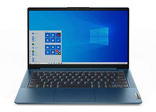 Lenovo IdeaPad 5 Notebook, Display 14' Full HD AntiGlare, Processore AMD Ryzen 5 4500U, 512 GB SSD, RAM 8 GB, Fingerprint, Windows 10, Light Teal