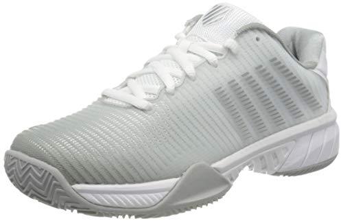 Dunlop, K-Swiss Performance Damen HYPERCOURT EXPRESS 2 HB Tennisschuhe, Weiß (White/Highrise/Silver 150), 38 EU