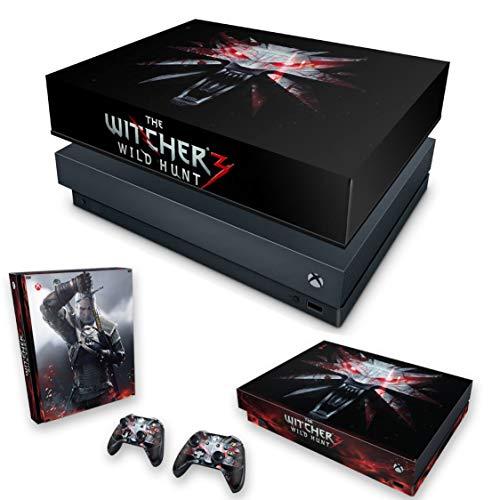 Capa Anti Poeira e Skin para Xbox One X - The Witcher 3#A