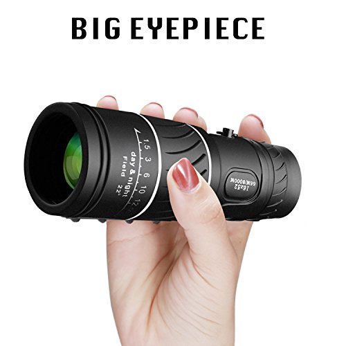 VOCH Monocular Telescope, 10X40 Dual Focus, Prism Film Optics,Waterproof, Monocular Scope for Birdwatching/Hunting/ Camping/Hiking / Golf/Concert/ Surveillance