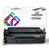 CHENPHON Compatible HP 58A CF258A Toner Cartridge High Yield for use with HP Laserjet Pro M404dn M404n M404dw M304 Multifunction M428fdn M428fdw M428dw Printer 1-Pack Black Without IC Chip