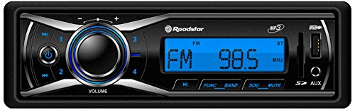 Roadstar RU-280RD Autoradio (SD/MMC-Kartenslot, UKW-Tuner, PLL-RDS, USB) schwarz